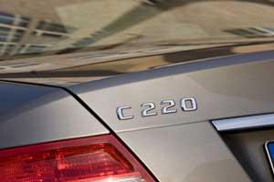 Mercedes C220 diesel car