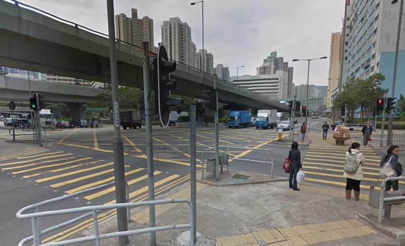Large Hong Kong junction