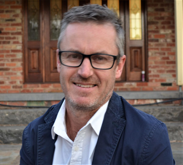 Professor Jason Thompson of Melbourne University's Transport, Health and Urban Design (THUD) Research Hub
