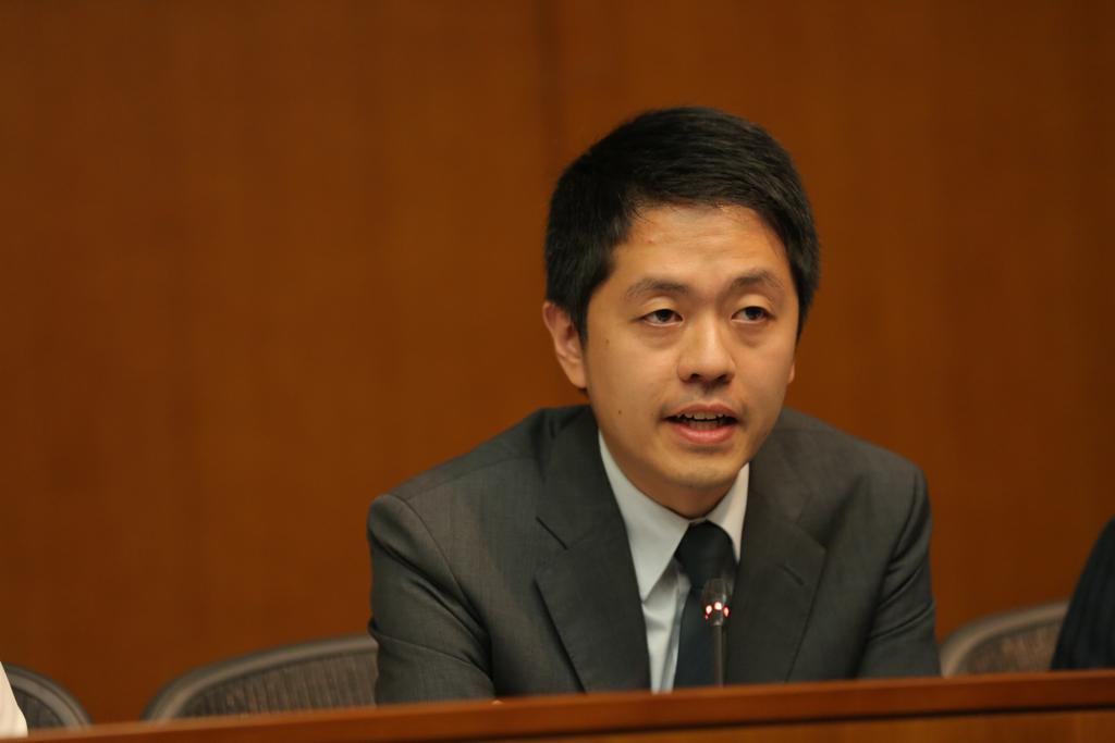 Lawmaker Ted Hui Chi-fung