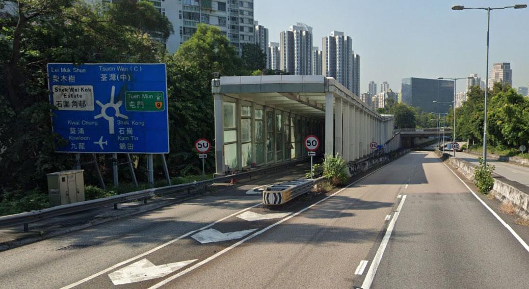 Tsuen Kam interchange